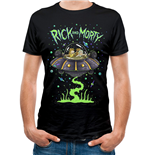 Rick And Morty - Space - Unisex T-shirt Black