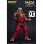 Ultra Street Fighter II: The Final Challengers Action Figure 1/12 Violent Ken 15 cm