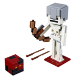 LEGO® Minecraft™ - BigFig Series 1: Skeleton with magma cube