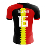 2018-2019 Belgium Flag Concept Football Shirt (Tielemans 16)