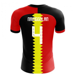 2018-2019 Belgium Flag Concept Football Shirt (Nainggolan 4)