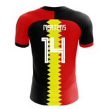 2018-2019 Belgium Flag Concept Football Shirt (Mertens 14)
