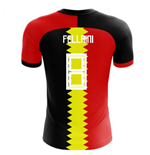 2018-2019 Belgium Flag Concept Football Shirt (Fellaini 8)