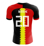 2018-2019 Belgium Flag Concept Football Shirt (Benteke 20)