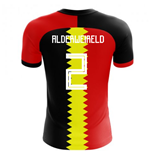2018-2019 Belgium Flag Concept Football Shirt (Alderweireld 2) - Kids