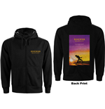Queen Unisex Zipped Hoodie: Bohemian Rhapsody Movie Poster (Back Print)