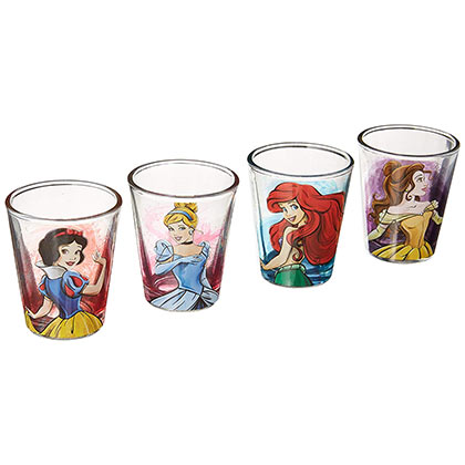 DISNEY Princess Shot Glass Set