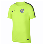 2018-2019 Man City Nike Squad Training Shirt (Volt)