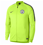 2018-2019 Man City Nike Squad Track Jacket (Volt)