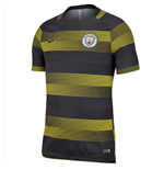 2018-2019 Man City Nike Pre-Match Training Shirt (Opti Yellow)