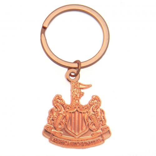Newcastle United F.C. Copper Plated Keyring