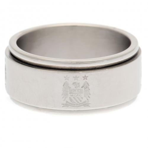 Manchester City F.C. Spinner Ring Small EC