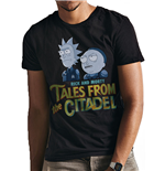 Rick And Morty - Tales From The Citadel - Unisex T-shirt Black