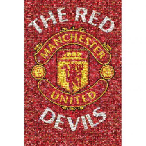 9d5ef1cc2 Manchester United F.C. Poster Mosaic 21