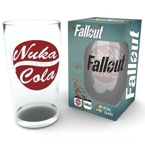 Fallout Large Glass Nuka Cola