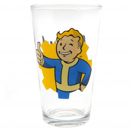 Fallout Large Glass Vault Boy