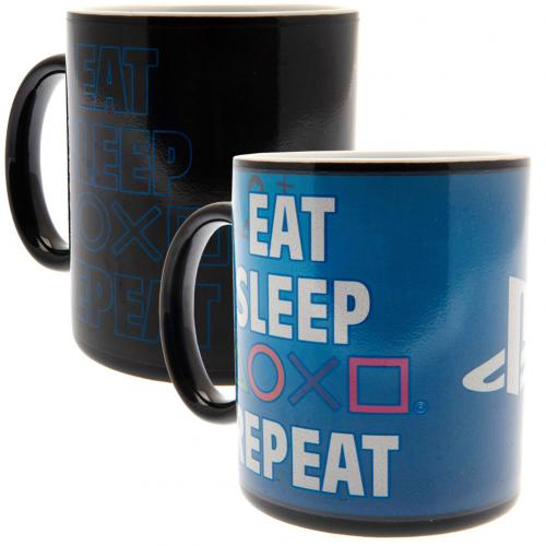 Playstation Heat Changing Mug Repeat