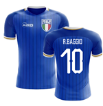 2018-2019 Italy Home Concept Football Shirt (R.Baggio 10) - Kids