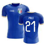 2018-2019 Italy Home Concept Football Shirt (Pirlo 21)