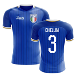 2018-2019 Italy Home Concept Football Shirt (Chiellini 3)