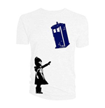 Doctor Who Men's Tee: Little Girl and Tardis