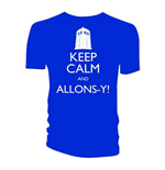 Doctor Who Men's Tee: Keep Calm and Allons-Y