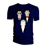 Doctor Who Men's Tee: 10th 11th 12th Vector Triangle