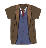 Doctor Who Men's Tee: 10th Doctor Costume