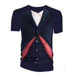 Doctor Who Ladies Tee: 12th Doctor Costume
