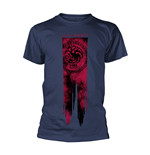 Game Of Thrones T-Shirt Targaryen Flag - Fire & Blood