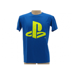 Sony PlayStation Logo Blue T-shirt