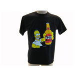 The Simpsons T-shirt Bottle