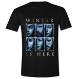 Game of Thrones: Winter Is Here Black T-shirt (Unisex)