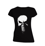 The Punisher: Series Skull Women's Black T-shirt