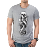Harry Potter - Dark Art Snake - Unisex T-shirt Grey