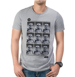 Star Wars - Trooper Year Book - Unisex T-shirt Grey