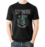 Harry Potter - Slytherin Varsity Crest - Unisex T-shirt Black