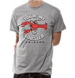 Friends - Lobster - Unisex T-shirt Grey