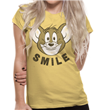 Tom And Jerry - Smile - Unisex T-shirt Yellow