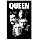 Queen Textile Poster: Faces