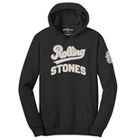 The Rolling Stones Unisex Pullover Hoodie: Team Logo & Tongue (Applique Motifs)