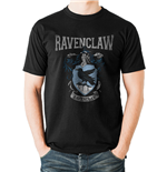Harry Potter - Ravenclaw Varsity Crest - Unisex T-shirt Black