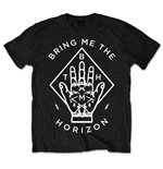 Bring Me The Horizon Unisex Tee: Diamond Hand