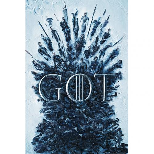 Game Of Thrones Poster Throne Of The Dead 198