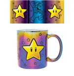 Super Mario Metallic Mug Star Power