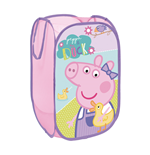 EONE-Peppa Pig Textile Pop-up Storage Bin 36  x 36  x 58 cm