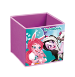 MATTEL-Enchantimals Textile Foldable Storage Cube 31  x 31  x 31 cm