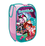 MATTEL-Enchantimals Textile Pop-up Storage Bin 36  x 36  x 58 cm