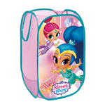 NICKELODEON-Shimmer & Shine Textile Pop-up Storage Bin 36  x 36  x 58 cm