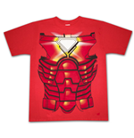 IRON MAN Suit Costume Halloween Red Graphic TShirt